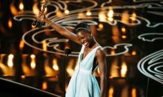 Lupita Nyong'o, best supporting actress winner  at the 86th Academy Awards
