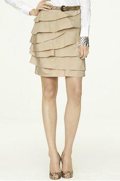 Ralph Lauren ruffled skirt!! I love Ralph Lauren I wish we had a RL store here in NWA