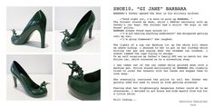 Post with 11719 votes and 517155 views. Artist Creates 12 Shoes For 12 Ex Lovers Barbara Barbara, Gi Jane, Killer Heels, Shoe Collection, Designer Shoes, Character Shoes, Dance Shoes, Footwear, Lovers