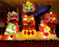 Yokohama China Town Chinese New Year