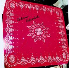Kına örtüsü Diy And Crafts, Create, Crochet, Straight Stitch, Cross Stitch Embroidery, Dots, Ganchillo, Crocheting, Knits