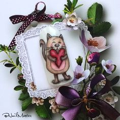 Lovely Kitten Nail Art Tutorial - Valentine's Day Nails - BNailMaster