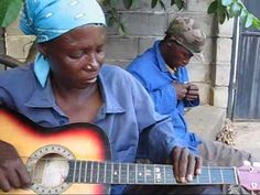 """▶ Botswana Music Guitar - Ronnie -""""Happy New Year""""! - YouTube This is an old video, but I love it!"""