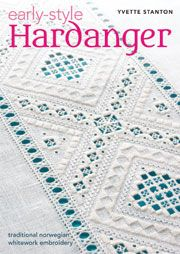 Yvette Stanton on Hardanger Embroidery