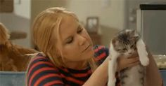 Pin for Later: 32 Times Amy Schumer Was SO YOU When you're concerned about your cat lady status.