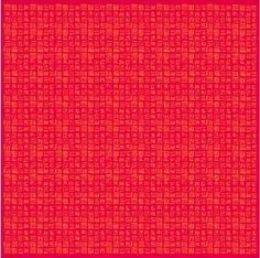 Pattern by Clay Pinha for Painappuru #red #lines #yellow #pattern #intense #colorful