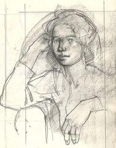 Pencil Study, Paul Jackson