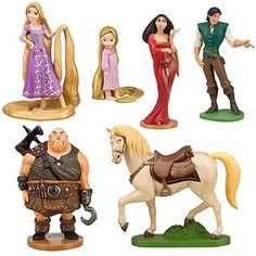 Disney Tangled Rapunzel Figure Play Set -- 7-Pc. Disney