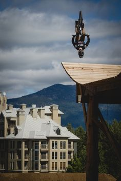 Backflip to end Peat's day at Joyride.