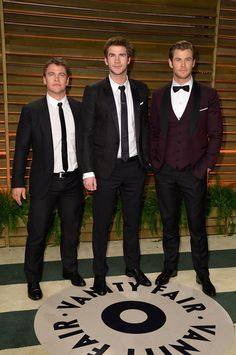 They all have different heights, different hair, different styles —basically there's a Hemsworth for every type: | 17 Times The Hemsworth Brothers Made You Wish You Were Dating The Hemsworth Brothers