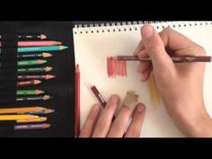 Learning to Draw? You're Gonna Need a Pencil - Drawing On Demand Pencil Painting, Color Pencil Art, Watercolor Pencils, Prismacolor, Copics, Pencil Drawing Tutorials, Art Tutorials, Pencil Drawings, Colored Pencil Tutorial