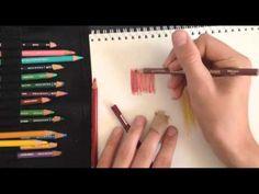▶ Prismacolor Pencil Blender Tutorial - YouTube