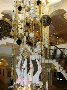 christmas decorations for hotels | Christmas Decorations at entrance of hotel - Picture of Elysium Hotel ...