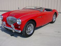 1954 Austin Healey 100-4 BN1 - Private Collection - Andys Classic Cars