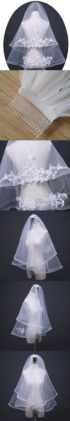 Utamall Special Occasion Accessories Wedding Veils Lace Bridal Veil