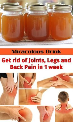 Miraculous Drink – Get rid of Joints, Legs and Back Pain in 1 week