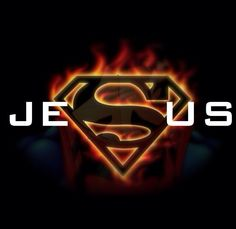 You wanna know who MY favorite superhero is? Yeah... Its JESUS