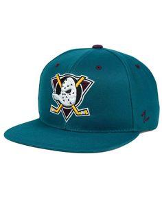 a3a6733ae38 Zephyr Anaheim Ducks Snapback Cap Anaheim Ducks