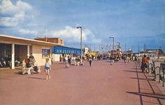 Aberavon Promenade, West Glamorgan, South Wales. 1960s