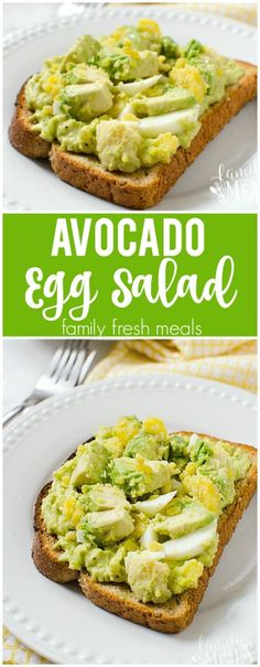 Avocado Egg Salad Recipe - Yummy and Healthy Family Fresh Meals