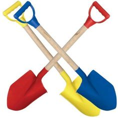 Outer Edge Large Wooden Handle Beach Shovel