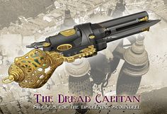 """Hello All  The newest addition to the coming release of the Pistols from Vyctor's Lab is """"The Dread Capitan!""""  With its double barrels of mu..."""