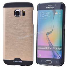 Samsung Galaxy S6 Metal Rubber Kılıf Tam Koruma Sarı -  - Price : TL21.90. Buy now at http://www.teleplus.com.tr/index.php/samsung-galaxy-s6-metal-rubber-kilif-tam-koruma-sari.html