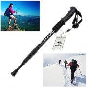 Duhud Anti-shock Adjustable Telescope Alpenstock Hiking Walking Trekking Alpenstock Trail Poles Mountaineering Black-2 Pack. $27.88 (as of 04/11/2016)