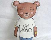 Organic Bear Plush