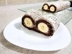 Rolad i Thjesht me Banane ( Siry i Maces ) ! Cake Recipes, Dessert Recipes, Desserts, 6 Months, Muffin, Breakfast, Youtube, Food, Recipes