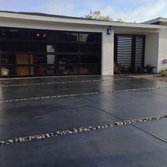 modern concrete driveway - Google Search