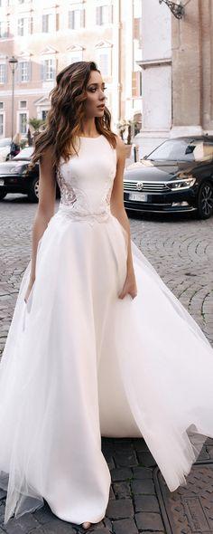 Wedding dress, lace wedding dress, unique wedding dress, sexy wedding dress Nelly