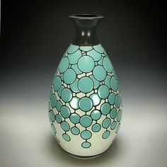 Vases, Art Nouveau, Black And White Painting, Wood Steel, Greggs, Gourds, Sculptures, Clay, Ceramics