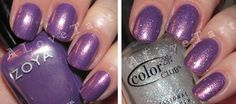 Zoya's Dannii with a little Starry Temptress by Color Club