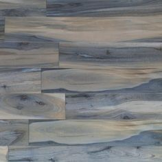 Ivy Hill Tile Rio Tiger Blue 8 in. x 48 in. Matte Porcelain Floor and Wall Tile sq. / 6 pieces/ - The Home Depot Deco Marine, Splashback Tiles, Wood Look Tile, Commercial Flooring, Beach House Decor, Beach Houses, Kitchen Flooring, Laminate Flooring, Kitchen Tile