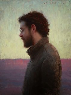 """""""At Home"""" oil on linen 8"""" x 6"""" inches by Jeremy Lipking"""