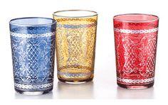 Maroccan Glass Kaya:Tradizionale bicchiere marocchino contenente 0.15 per…