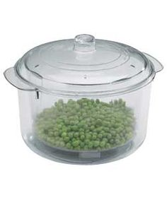Microwave Stain Free 1.25 Litre Rice and Vegetable Steamer.