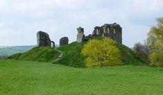Clun Castle, Clun, Shropshire, U.K.