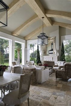 Lee Caroline - A World of Inspiration: Tillinghast Estate - French Style Farmhouse or French Chateau?