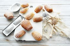 madeleines (authentic french recipe from laduree) - maybe omit the lemon zest though