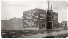 Vintage Chicago Snapshot Photo  Howard Terminal by photopicker