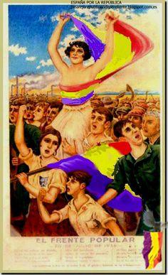 España por la República : Más de 90 Carteles de la República de España (Posiblemente la mayor colección de carteles no bélicos en internet)