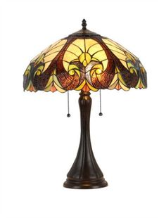 Of course some Tiffany style lamps