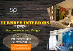 Turnkey Interiors in Gurgaon Residential Interior Design, Interior Designing, Space Available, Commercial Interiors, Neutral Colors, Simple Designs, Design Trends, The Help, Building A House