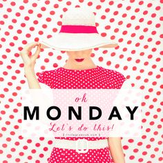 Okay Monday, Let's do this! ♥ Happy Monday Everyone! Monday Morning Quotes, Happy Monday Quotes, Hello Quotes, Morning Memes, Days Of Week, New Week, Fitness Motivation, Monday Motivation, Weekday Quotes