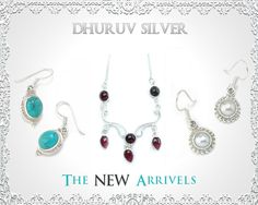 Dhruv silver is a India's Foremost manufacturers and supplier of sterling silver jewelry. Our jewelry is famous in all over world.