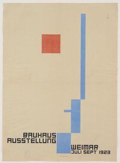 Fritz Schleifer. Bauhaus Ausstellung. 1923