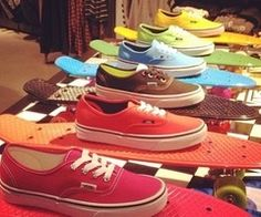 ch   via Tumblr Vans and Penny Boards?? I think yes, yes please.