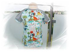 schönes T-shirt gr.110/116 ~ Dino ~ Dinos von 3 Kleine Engel auf DaWanda.com